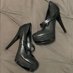 Jessica Simpson Mary Jane heels